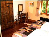 Goldcrest Bedroom 1 - Luxury Self Catering in the Wicklow Mountains