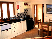 Goldcrest Kitchen - Luxury Self Catering in the Wicklow Mountains