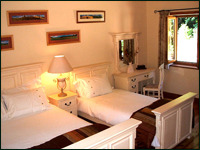 Orchid Bedroom - Luxury Self Catering in the Wicklow Mountains