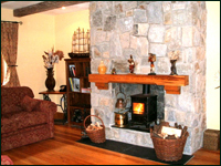Orchid Sittingroom - Luxury Self Catering in the Wicklow Mountains